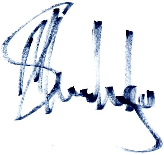 May Mahlangu, signatur