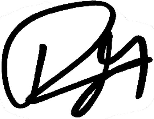 David Moberg Karlsson, signatur