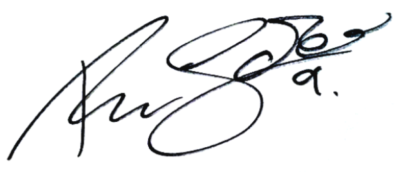 Robin Söder, signatur