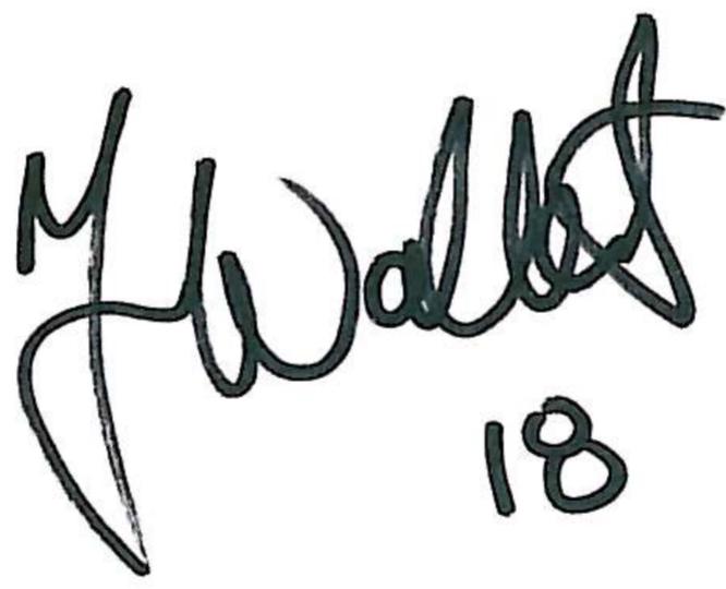 Jonas Wallerstedt, signatur