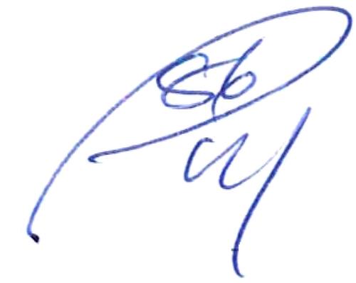 Pontus Wernbloom, signatur