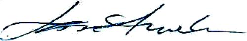 Lars-Erik Arvelin, signatur