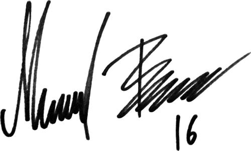 Mikael Boman, signatur
