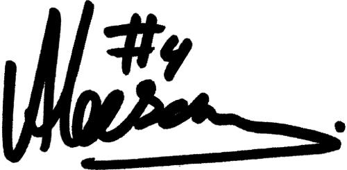 Haitam Aleesami, signatur