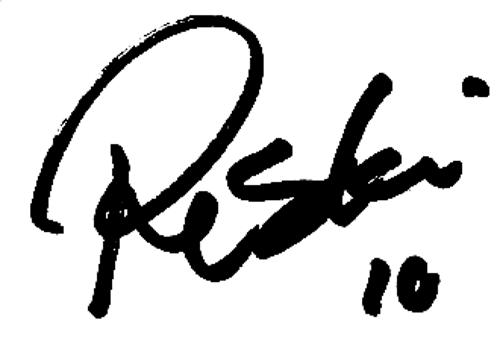 Riku Riski, signatur
