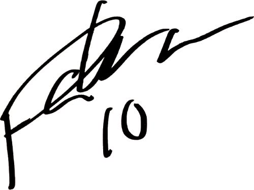 Patrik Karlsson Lagemyr, signatur