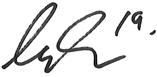 August Erlingmark, signatur