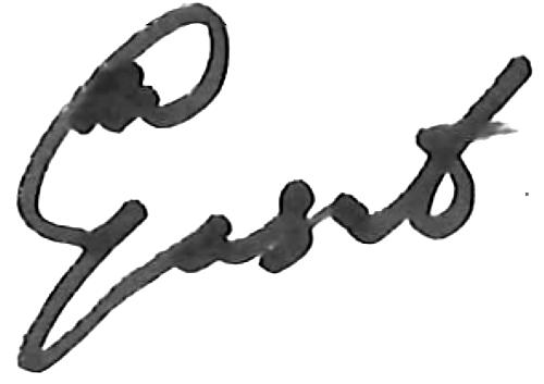 Alhassan Yusuf, signatur