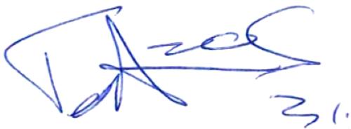Tom Amos, signatur