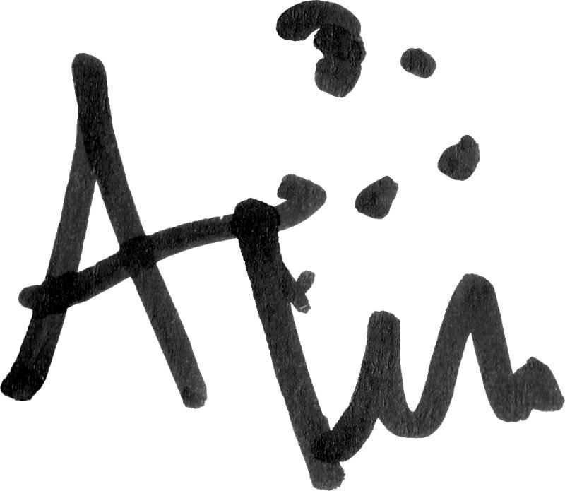 Adil Titi, signatur