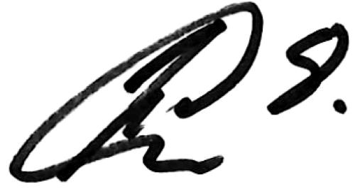 Hosam Aiesh, signatur