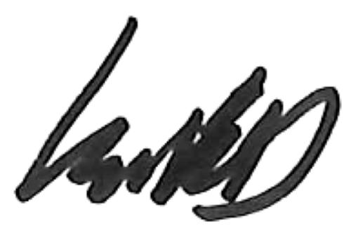 Isak Dahlqvist, signatur